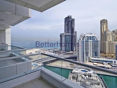 فلیٹ 3 غرف نوم للبيع في دبي مارينا، دبي - 3 Bed Plus Maid|Vacating Soon|Marina View