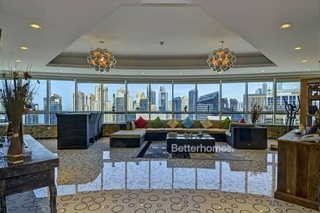 4 Bedroom Apartment for Sale in Dubai Marina, Dubai - Upgraded | Full Marina View | High Floor