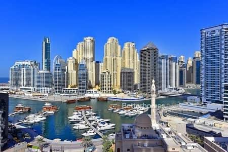1 Bedroom Apartment for Sale in Dubai Marina, Dubai - FULL MARINA VIEW  -  CAN  BE VACANT SOON