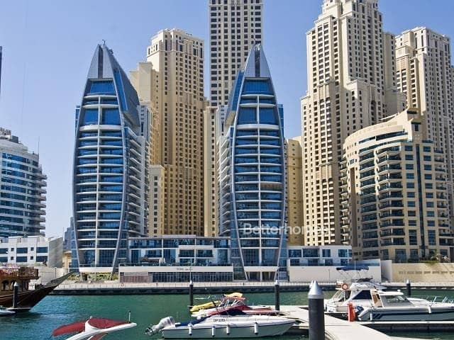 10 Balcony | Full Marina View | Rented | The Jewels