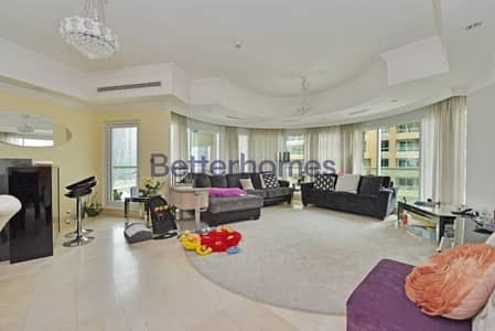 3 Bedroom Flat for Sale in Dubai Marina, Dubai - Partial Marina View | Low Floor | Maids