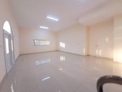 1 Bedroom Flat for Rent in Shakhbout City (Khalifa City B), Abu Dhabi - Extra large Nice finishing 1 bedroom hall + 2 bathrooms for rent in khaifa B