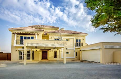 Polo view | 6 BR luxury villa | Ready to move-in