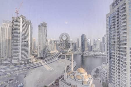 فلیٹ 2 غرفة نوم للايجار في دبي مارينا، دبي - Full Marina View  Beautiful Spacious Luxury 2 Beds Apart.