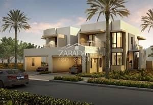 تاون هاوس 4 غرف نوم للبيع في قرية جميرا الدائرية، دبي - Type 3M   Single Row   4 Bed+Maid