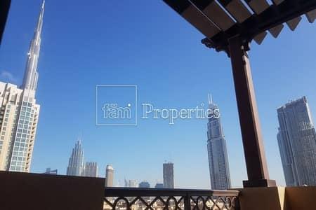 بنتهاوس 3 غرف نوم للايجار في المدينة القديمة، دبي - Stunning Penthouse with Partial Burj View