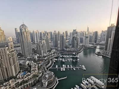 فلیٹ 1 غرفة نوم للبيع في دبي مارينا، دبي - Stunning | Full Marina View | Best layout