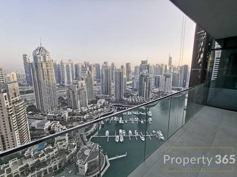 2 Stunning   Full Marina View   Best layout