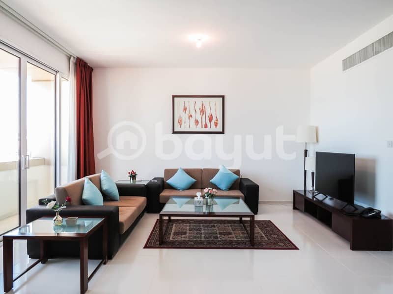 Upgraded and Fully Furnished  4 Bedroom Modern Apartment