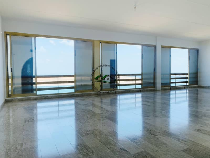 Affordable 3BR Duplex Apartment with Full Sea View