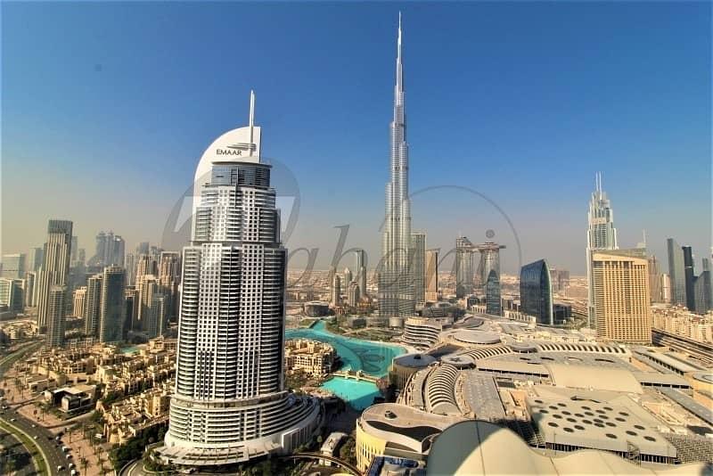 2 High Floor | Full Burj and Fountain Views | 01 Series