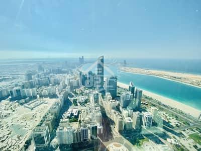 فلیٹ 4 غرف نوم للايجار في منطقة الكورنيش، أبوظبي - High end living| panoramic views| 2 months free
