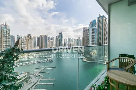 2 Bedroom Flat for Rent in Dubai Marina, Dubai - Large Unit with Lovely Full Marina Views