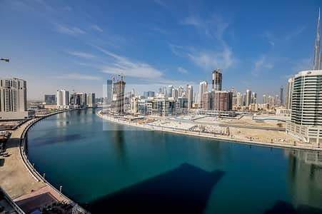 3 Bedroom Flat for Sale in Business Bay, Dubai - Beautiful Canal View 3BR + S + Maid