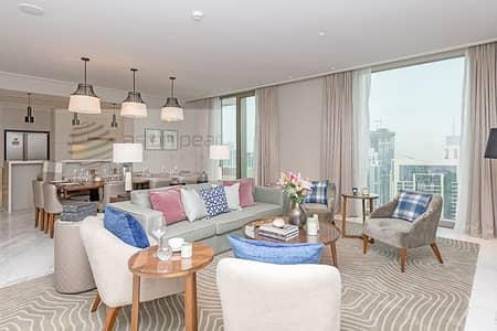 فلیٹ 4 غرف نوم للايجار في وسط مدينة دبي، دبي - Sky Collection 4BR in Vida Residence Downtown