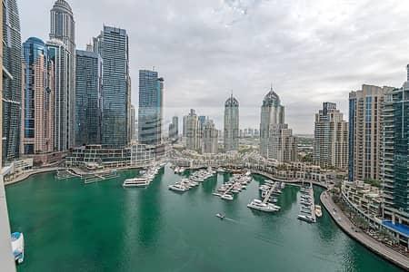 فلیٹ 3 غرف نوم للايجار في دبي مارينا، دبي - 3Beds+Maid's+Storage |360 Marina View | Furnished