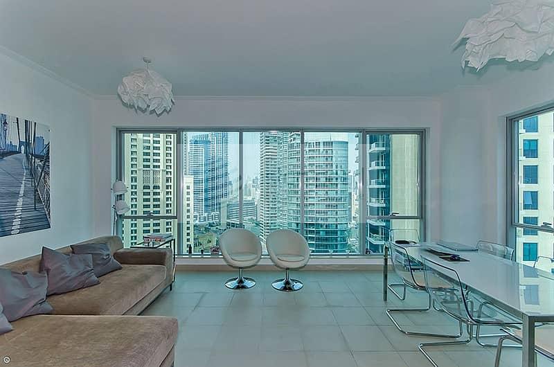 Best Deal | 2BR | On High Floor | Full Marina View