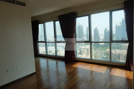 3 Bedroom Apartment for Rent in Downtown Dubai, Dubai - Partly Furnished 3BR+M Excellent Condition
