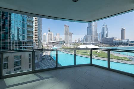 3 Bedroom Apartment for Rent in Downtown Dubai, Dubai - Upgraded | Vacant | Ready To Move In | Superb View