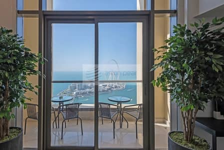 3 Bedroom Apartment for Rent in Jumeirah Beach Residence (JBR), Dubai - Executive Class| Brand New Loft| 3BR Lux Furnished