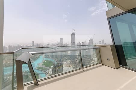 فلیٹ 3 غرف نوم للبيع في وسط مدينة دبي، دبي - Prime Location 3BR Burj Khalifa and Fountain Views