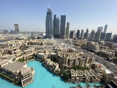 3 Bedroom Apartment for Sale in Downtown Dubai, Dubai - Burj and Fountain View from your Window