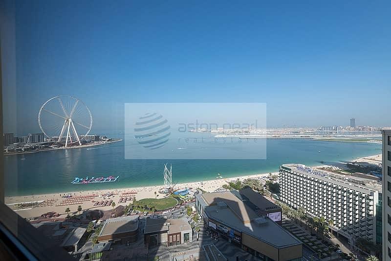 2 Dubai Eye View || Huge 3 BR+M || RIMAL 3