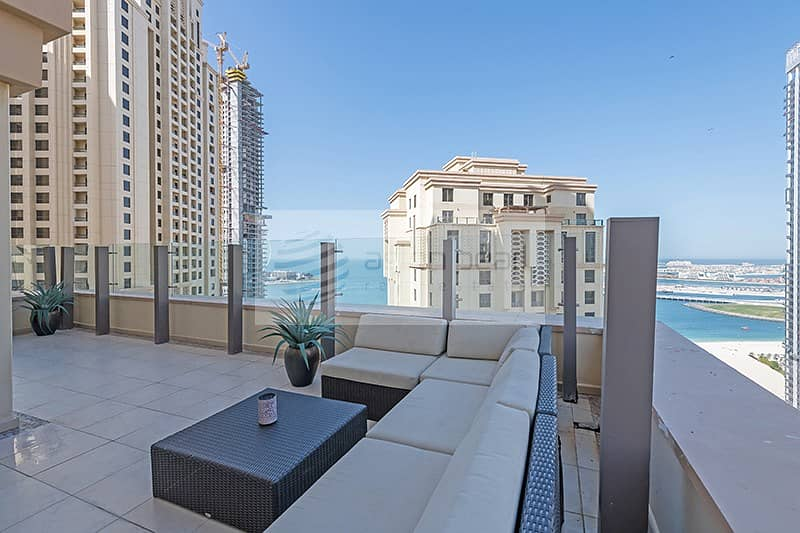 2 New Large Terrace Apartment | Never Rented Before