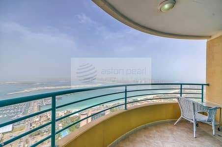 شقة 3 غرف نوم للبيع في دبي مارينا، دبي - 3 BR+Maid || Full Sea View || Vacant Now