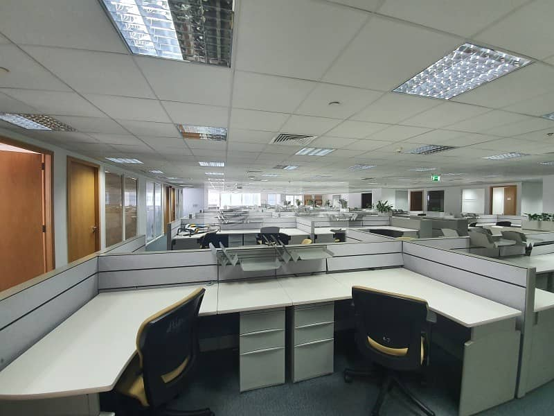 2 Vacant | Furnished Office| Free AC and Maintenance