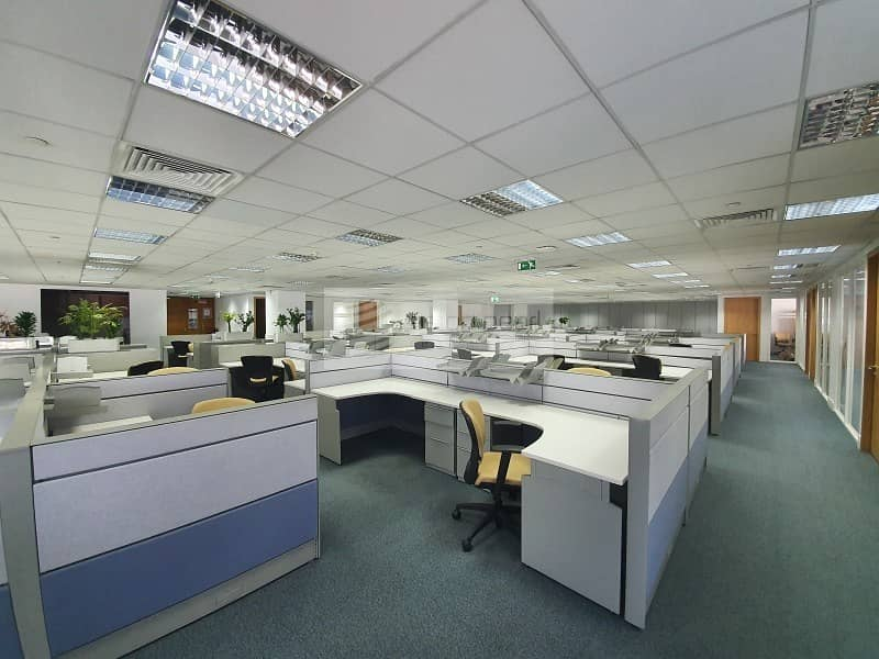 10 Vacant | Furnished Office| Free AC and Maintenance