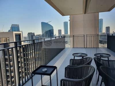 فلیٹ 3 غرف نوم للايجار في وسط مدينة دبي، دبي - Brand New | High Floor | Furnished 3 Beds + Maid's
