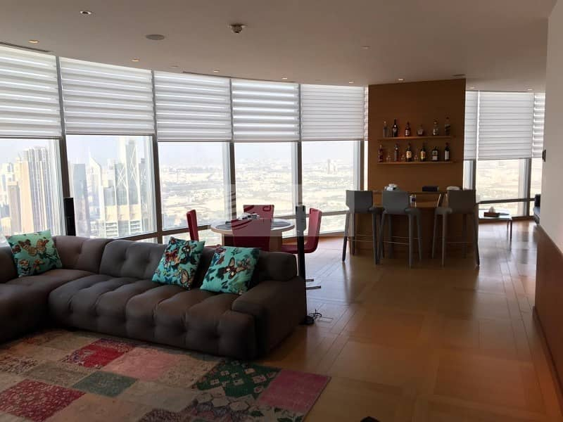 Best Layout   2BR + Maid's   High Floor Apartment