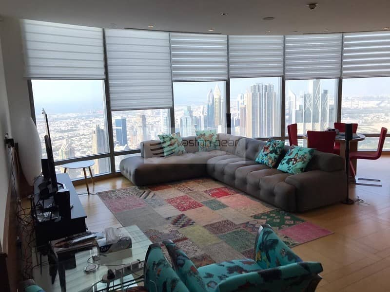 2 Best Layout   2BR + Maid's   High Floor Apartment