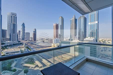 1 Bedroom Flat for Sale in Business Bay, Dubai - Spacious 1BR with Balcony | Sheikh Zayed Road View