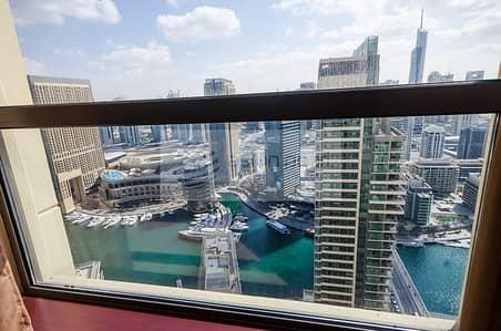 2 Bedroom Flat for Sale in Jumeirah Beach Residence (JBR), Dubai - VACANT 2 Bedroom | Panoramic Marina View