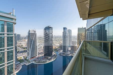 فلیٹ 1 غرفة نوم للبيع في أبراج بحيرات الجميرا، دبي - Vacant with Generous Balcony