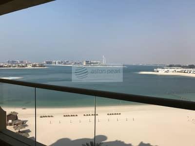 فلیٹ 1 غرفة نوم للبيع في نخلة جميرا، دبي - Stunning Unobstructed Sea View 1BR