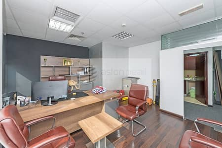 Office for Sale in Business Bay, Dubai - Fully Fitted and Furnished Office in Business Bay