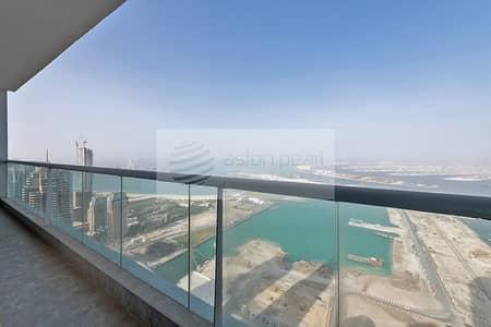 شقة 3 غرف نوم للبيع في دبي مارينا، دبي - Uninterrupted Sea View | Vacant | 3