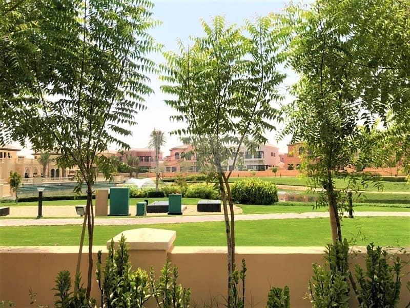 4 BR | Vacant | Orange Lake | Jumeirah Golf Estate