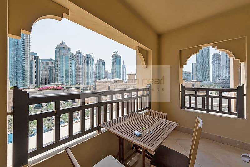 2BR with Huge Balcony Burj/Fountain View