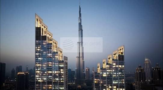 2 Bedroom Apartment for Sale in Downtown Dubai, Dubai - Stunning 2BR-Balcony Facing Burj Khalifa