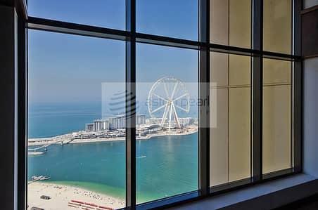 شقة 2 غرفة نوم للبيع في جميرا بيتش ريزيدنس، دبي - Full Sea and Dubai Eye Views   2BR Loft Apartment