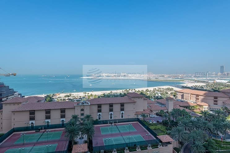 Furnished 2 BR Panoramic Sea View Vacant