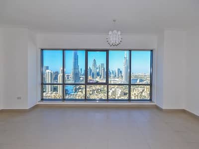 Exclusive 3BR+M | Burj and Fountain Views | Vacant