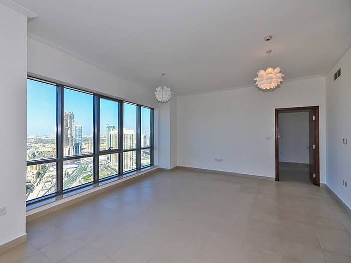 2 Exclusive 3BR+M | Burj and Fountain Views | Vacant