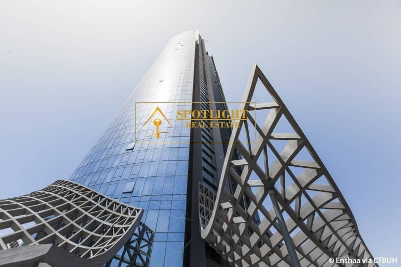 Deal of Day - Spacious 2 Bedroom in D1 Tower - Creek Burj View