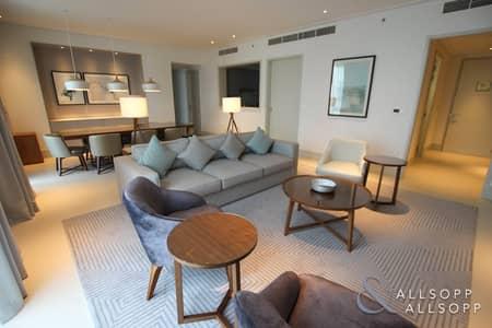 3 Bedroom Apartment for Rent in Downtown Dubai, Dubai - Burj Khalifa View | Furnished | 3 Bedrooms