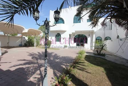 4 Bedroom Villa for Rent in Mirdif, Dubai - Semi independent 4 Bedroom Villa Huge Garden Available In Mirdif For Rent